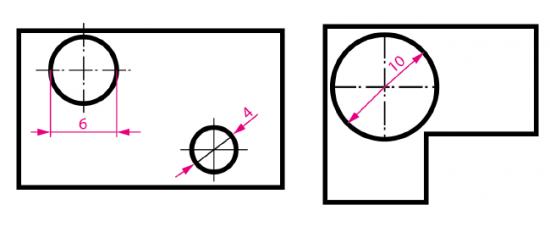Símbolo de diámetro