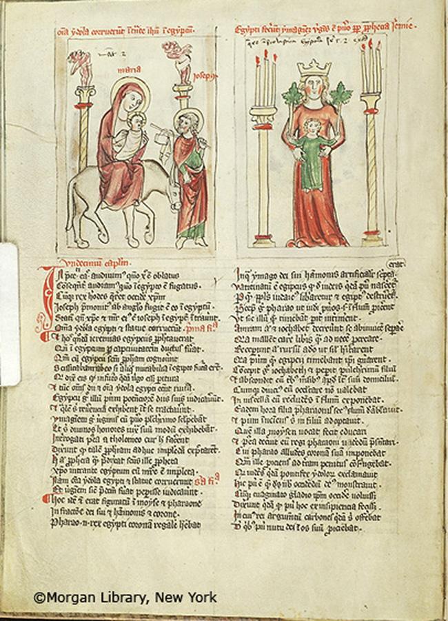 Speculum humanae salvación es Alemania, probablemente Nuremberg, entre 1350 y 1400