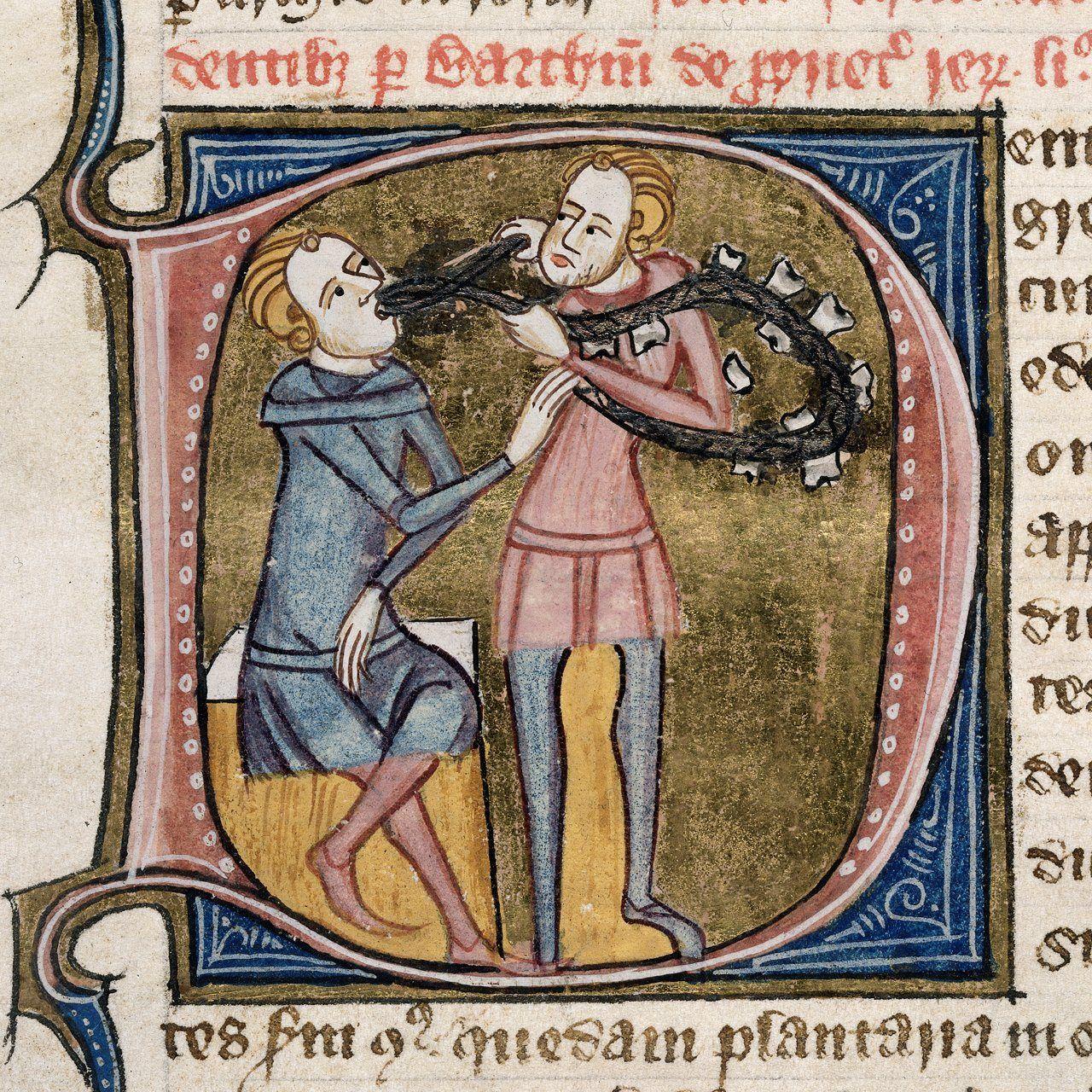 Capitular medieval ilustrada