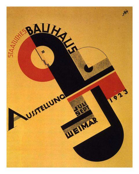 La exposición Bahaus de 1923