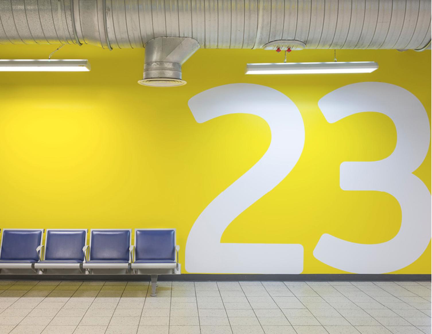 London Luton Airport, espacios