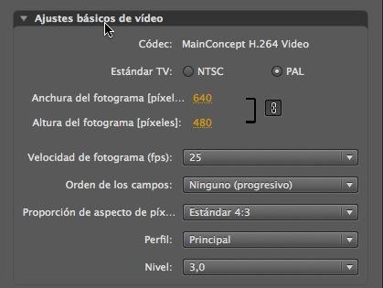 Códec de vídeo h.264