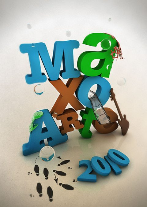 Flickr Creativos – Carte ganador Maxoarte 2009