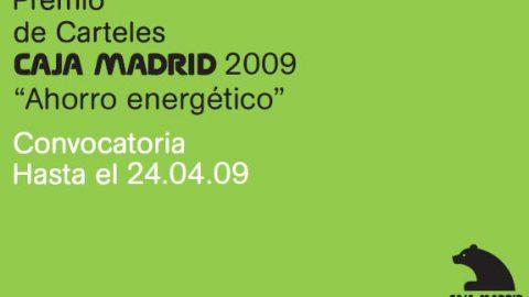 "Premio de Carteles Caja Madrid 2009 ""Ahorro Energético"""
