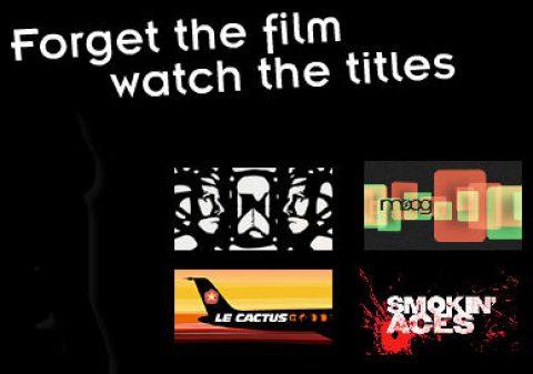 Olvídate de la película, mira los títulos