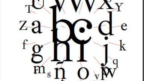 La tipografía española también existe, Ibarra se hace universal.