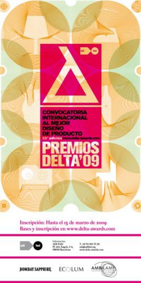 Convocatoria de los premios Delta 2009.