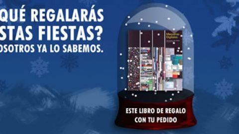 De regalo de Navidad un libro: Maquetas digitales