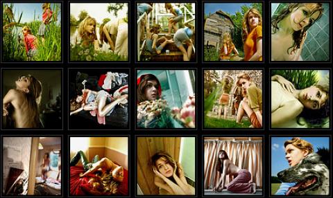 Miss Aniela de Flickr a la galería Cámara Oscura de Madrid