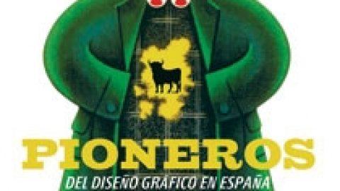 """Libro: """"Pioneros del diseño gráfico en España""""."""