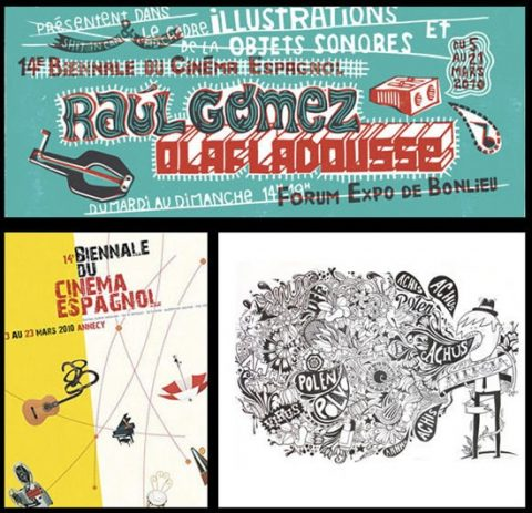 Raúl Gómez en Annecy. Biennale du Cinema Espagnol.