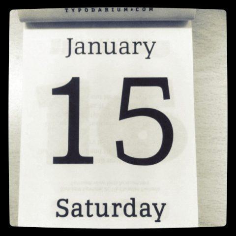 15 de enero, Larque.