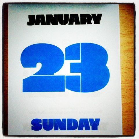 23 de enero, Grim Stencil.