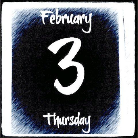 3 de febrero, brushtipTerrence.