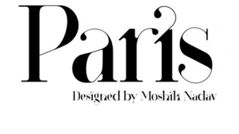 Paris | New Typeface by Moshik Nadav Typography