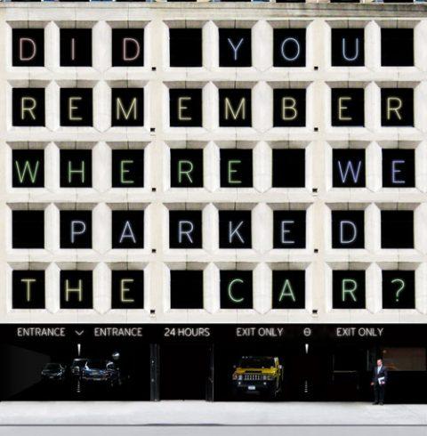 ¿Te acuerdas de dónde aparcamos el coche?