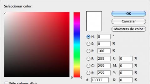 Para gusto, los colores: Blanco.