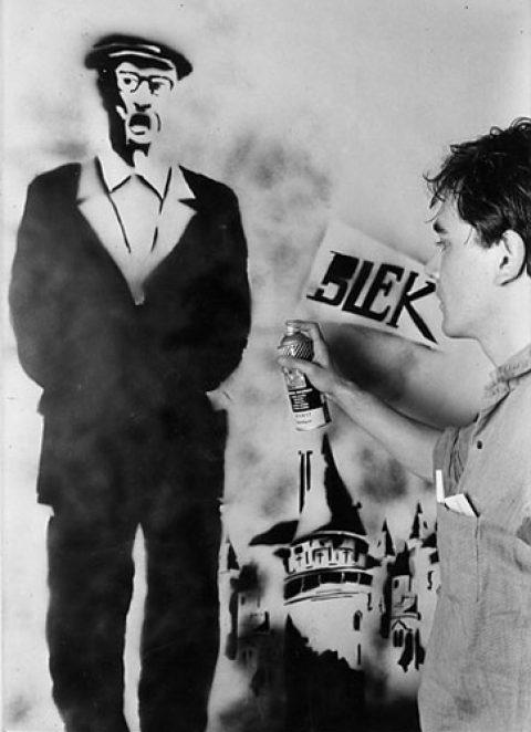 Blek le Rat, el padre de Banksy.