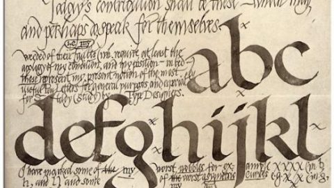 Edward Johnston, caligrafía underground.