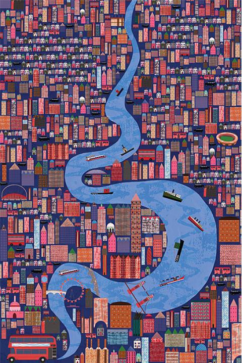 Anne Wilson, ganadora del Premio Serco 2011 de ilustración.