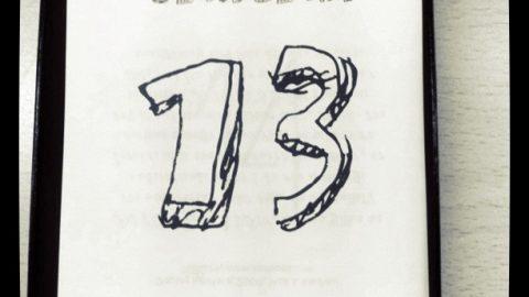 13 de enero, tipografía Mati.