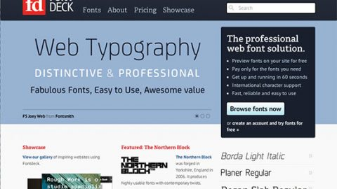 Servicios de alojamiento Web Fonts II