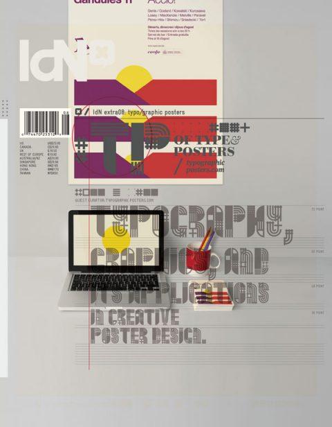IdN, extra 08: Tipografía y su aplicación en carteles.
