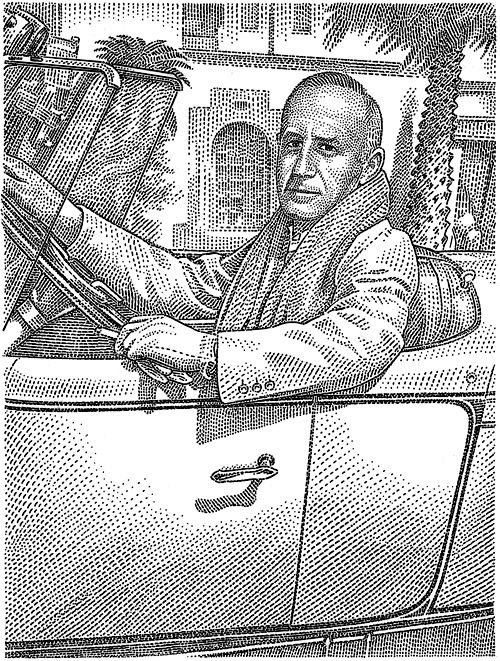 Kevin Sprouls hedcuts Wall Street Journal