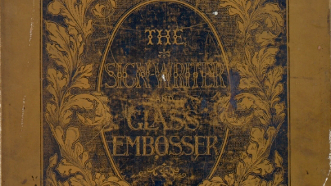 The Sign Writer and Glass Embosser.