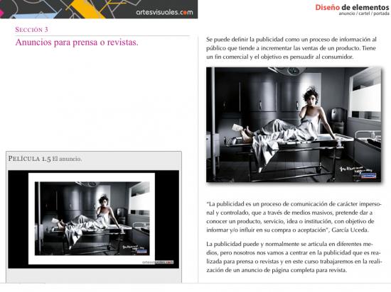 Diseño de elementos anuncio / cartel / portada