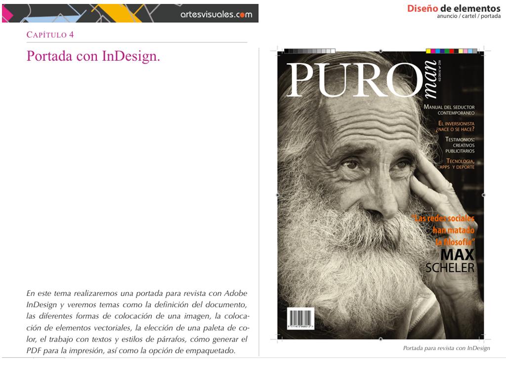 Diseño de elementos: Anuncio, cartel, portada. - blogartesvisuales