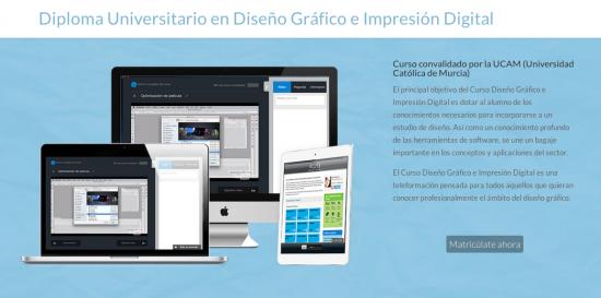 Diploma Universitario en Diseño Gráfico e Impresión Digital.