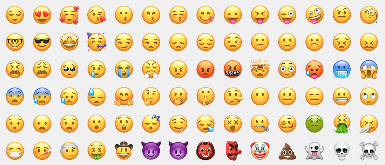 Emojis o emoyis