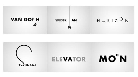 En este caso logos que representan conceptos.