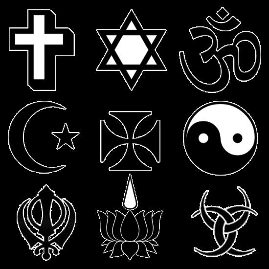 Símbolos religiosos.