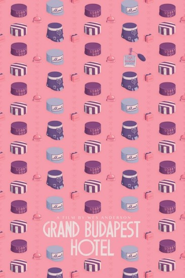 Alternative Grand Budapest Hotel Posters