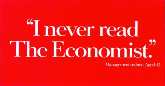 """""""Nunca he leído The Economist"""". Aprendiz de gestión. 42 años"""