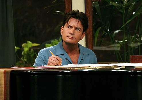 Charlie Harper. TWO AND A HALF MEN