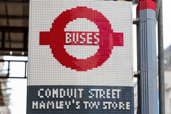 Parada Lego, Londres.