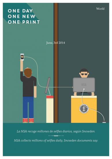 Selfies diarios y la Nasa. 3 de junio 2014.