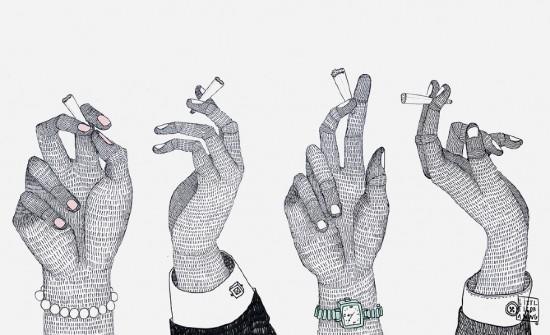 Fumador, Le Monde.