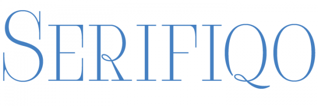 Serifiqo 4F, una serif con mucha delicadeza.