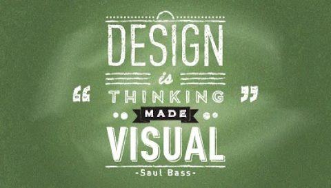 Un pensamiento y 20 diseños.