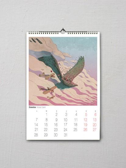 Calendario Cuarenta Patas