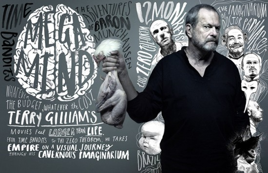 Terry Gilliam, Self Assignment, February 2009.