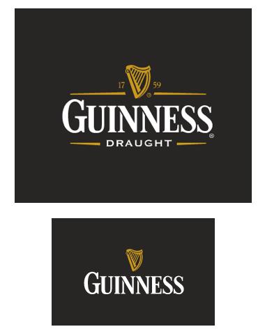 Eliminación de elementos en la marca Guinness.