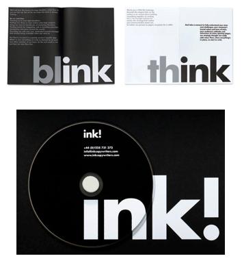 Juegos con ink, para una identidad adaptable.