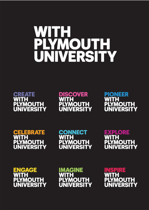 Plymouth University, identidad adaptable.