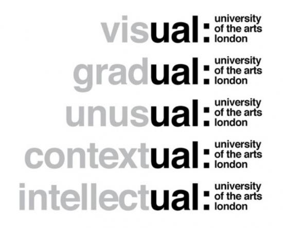Universidad of the Arts London -ual-.