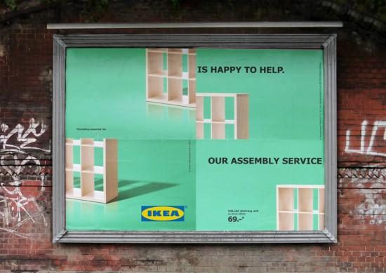 Campaña IKEA Assembly.